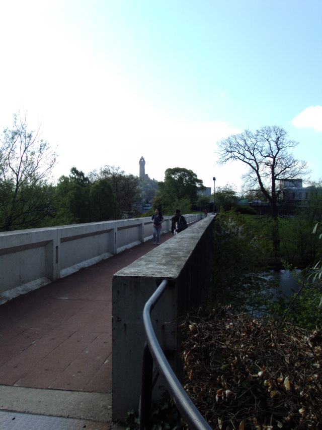 Stirling University bridge
