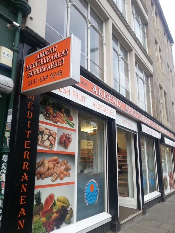 mediterranean supermarket edinburgh