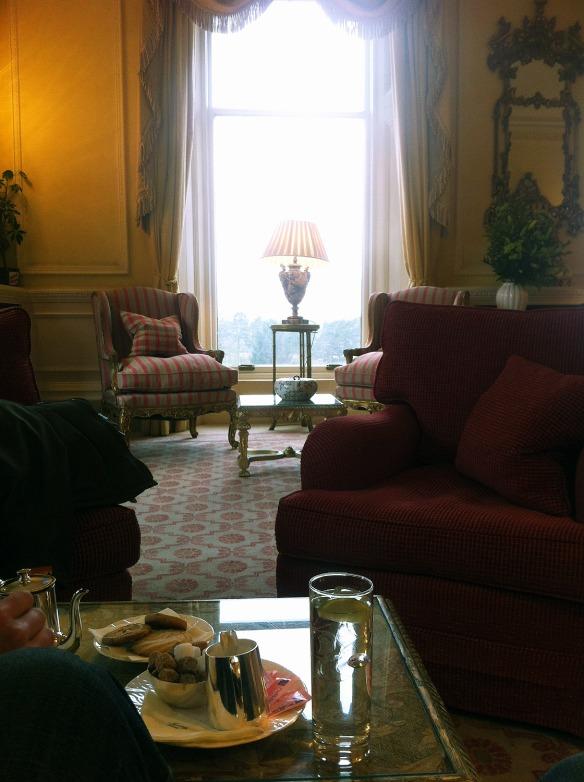 inverlochy castle drawing room