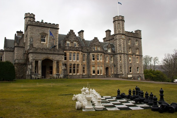 Inverlochy Castle hotel chess