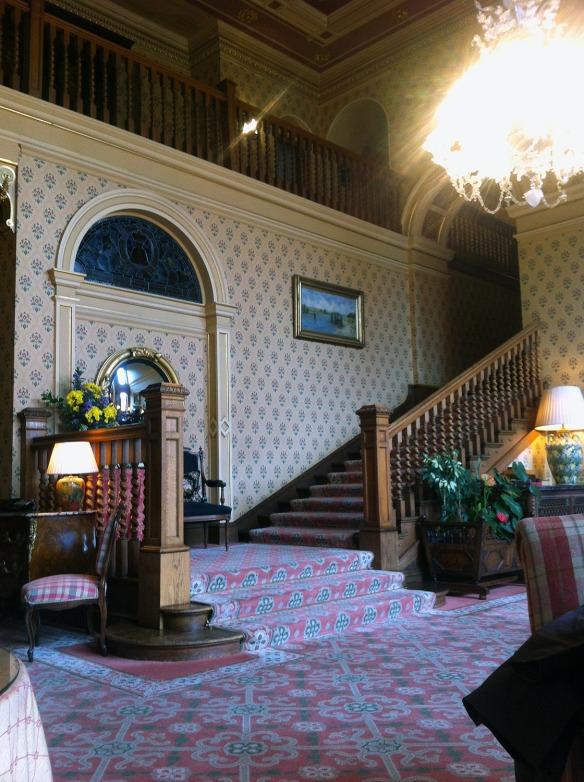 inverlochy castle hotel hall