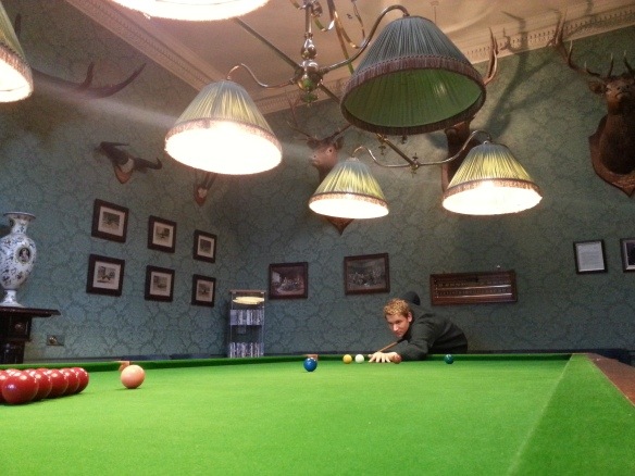 inverlochy castle snooker